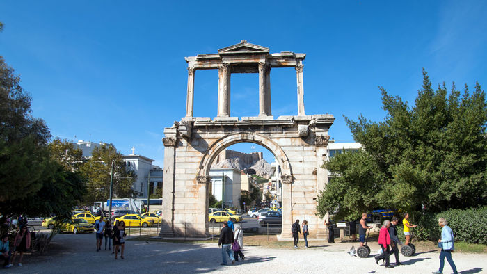 Hadrian's Arch, the entrance to the city