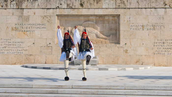 Syntagma Square, changing of the Guard